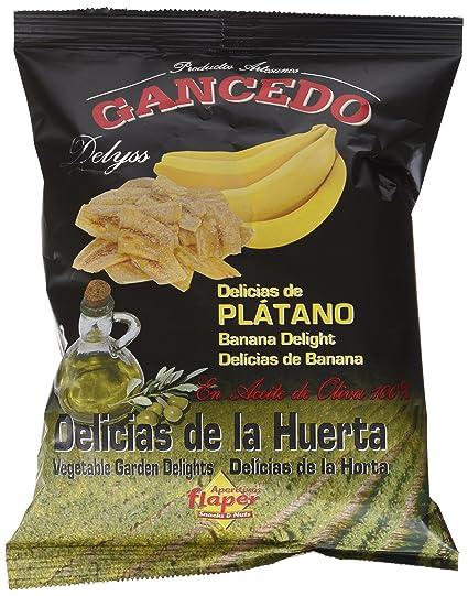 Gancedo-Flaper Delicias de Plátano - 10 Unidades x 70 gramos