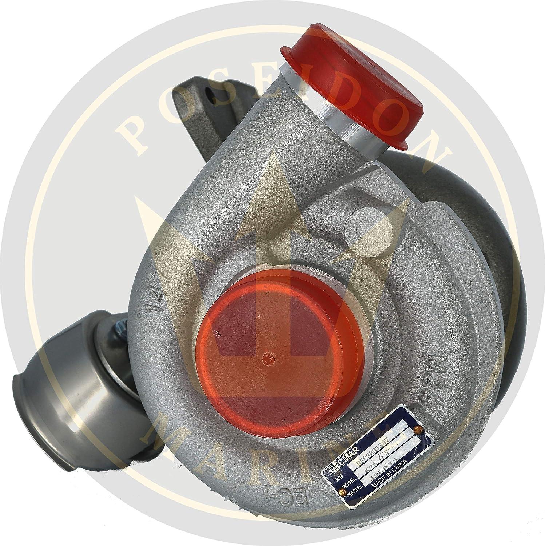 Poseidon Marine Turbo for Volvo Penta D3-110I-D, I-E, I-F, I-G, I-H D3-140, 150, 170, 200, 220 Replaces 3801387