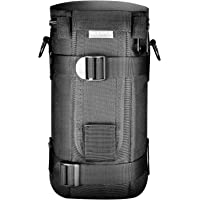Neewer® NW-L2070 Black Padded Water-Resistant Lens Pouch Bag Case with Shoulder Strap for 70-200mm Lens, Such as Canon…