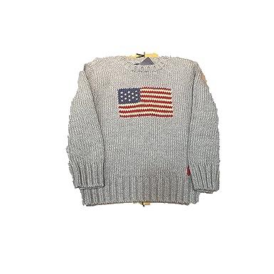 Polo Ralph Lauren - Jersey Punto Gris: Amazon.es: Ropa y accesorios
