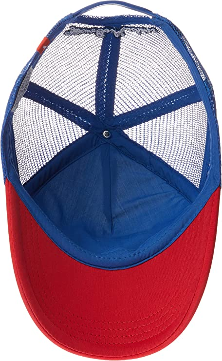 Casquette Trucker Baylands bleu-rouge DEUS EX MACHINA
