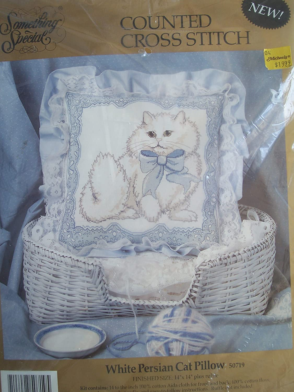 Anchor Counted Cross Stitch Kit Persian  Cat