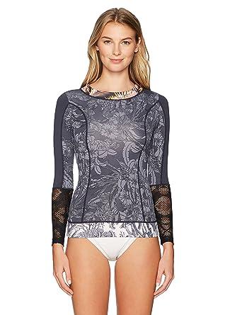 5d4c14602e549 Maaji Women's Moonless Festival Rasguard Swimsuit at Amazon Women's  Clothing store:
