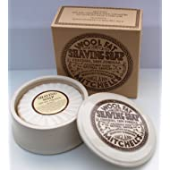 Mitchell's Wool Fat Shaving Soap in Dish