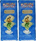 Kauai Coffee, Koloa Estate Medium Roast, Ground Coffee, 10oz Bag (Pack of 2)