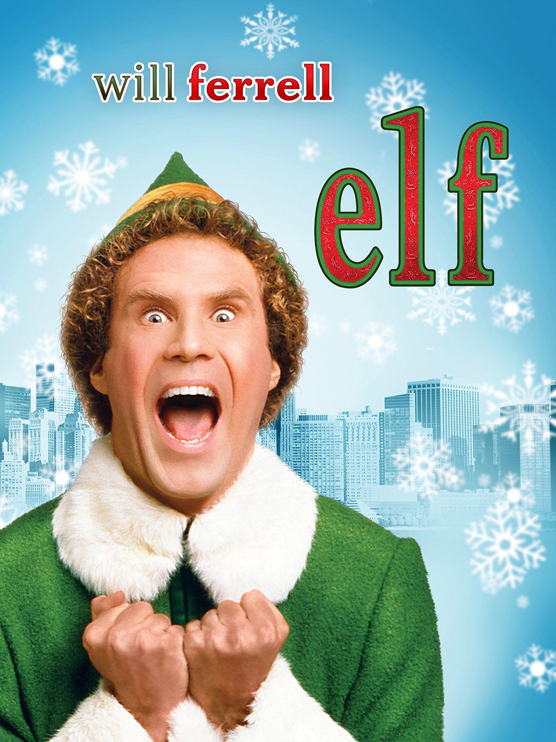 Amazon.com: Elf (plus bonus features): Will Ferrell, James Caan ...