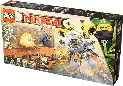 Amazon.com: LEGO Ninjago Flying Jelly Sub 70610 - Kit de ...