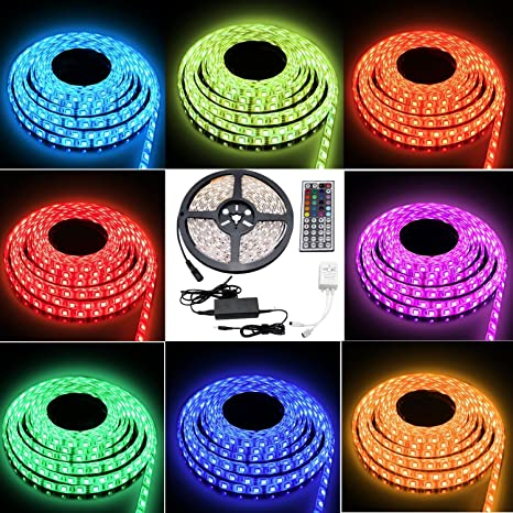Caryled 164ft 5m waterproof rope lights 300 led 5050 smd color caryled 164ft 5m waterproof rope lights 300 led 5050 smd color changing rgb flexible led mozeypictures Images