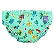 Bambino Mio, Reusable Swim Diaper, Under The Sea, Medium (6-12 Months)