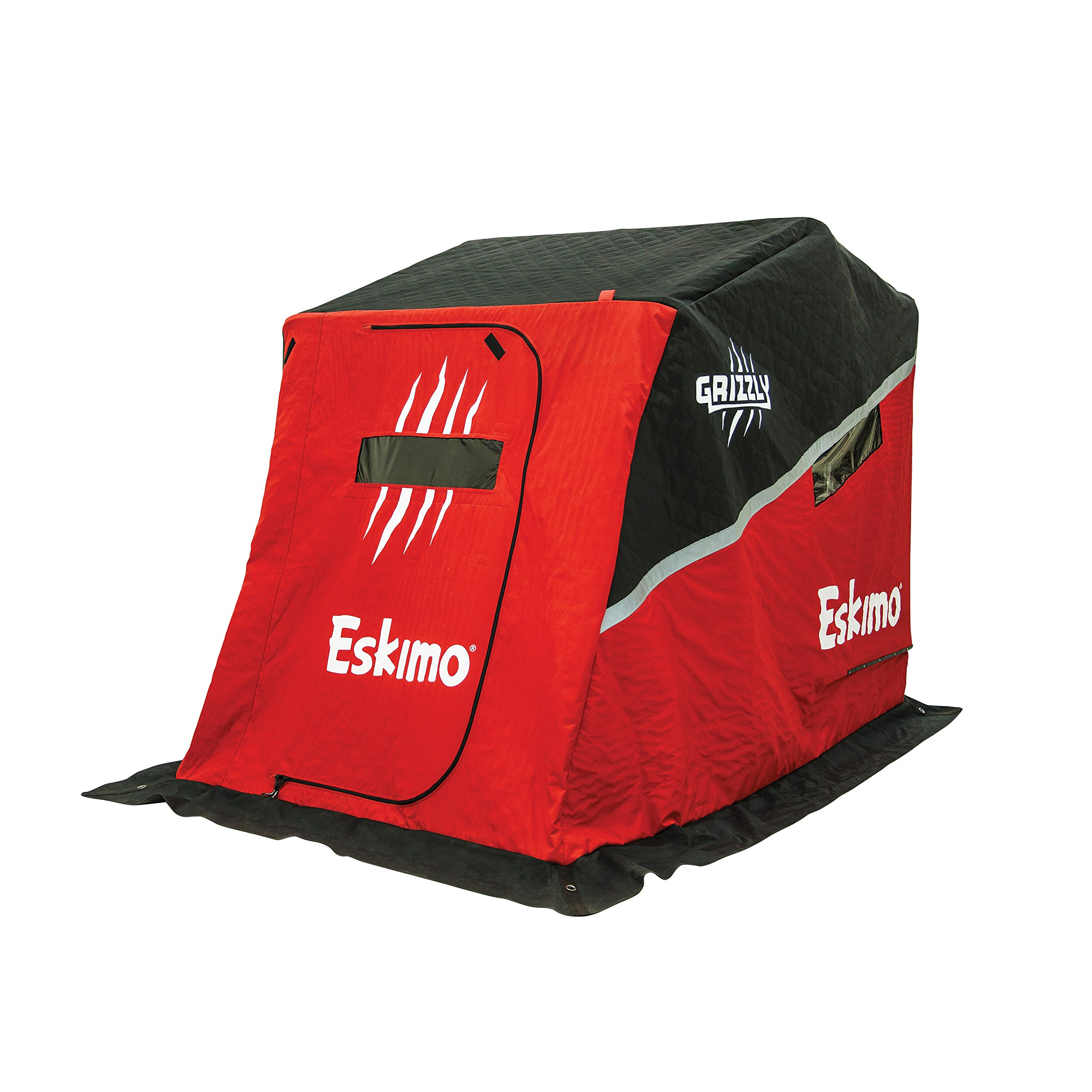 Eskimo 26500 Grizzly Flip 70'' Sled Shelter, 2-3 Person by Eskimo