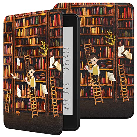 Timovo Case Compatible For Kindle Paperwhite E Reader 10th Generation 2018 Release Premium Thin Lightweight Leather Cover With Auto Wake Sleep