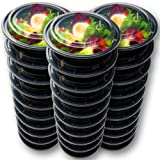 Amazon Price History for:30 Meal Prep Containers Reusable - Disposable Food Containers Meal Prep Bowls - Plastic Containers with lids - Plastic Food Storage Containers with Lids - Lunch Containers for adults to go Containers