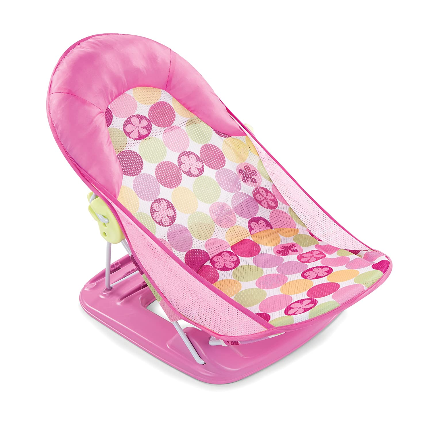 Amazon.com : Summer Infant Deluxe Baby Bather, Pink : Baby Bathing ...