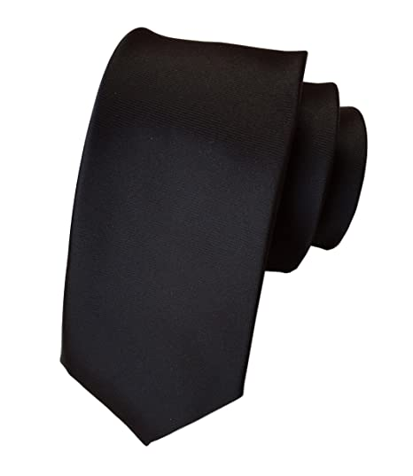 21909c810570 Secdtie Men's Black Solid Woven Silk Tie HANDMADE Luxury Formal Suit Necktie  07