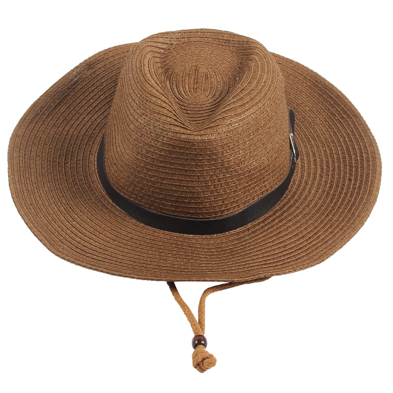 Sidiou Group Uomo Cappelli da cowboy Donne Cappa da spiaggia Unisex ... f3f2533e0533
