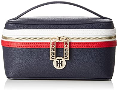1ba585ffebb Tommy Hilfiger Th Core Make Up Bag, Women's Canvas and Beach Tote Blue  (Corporate