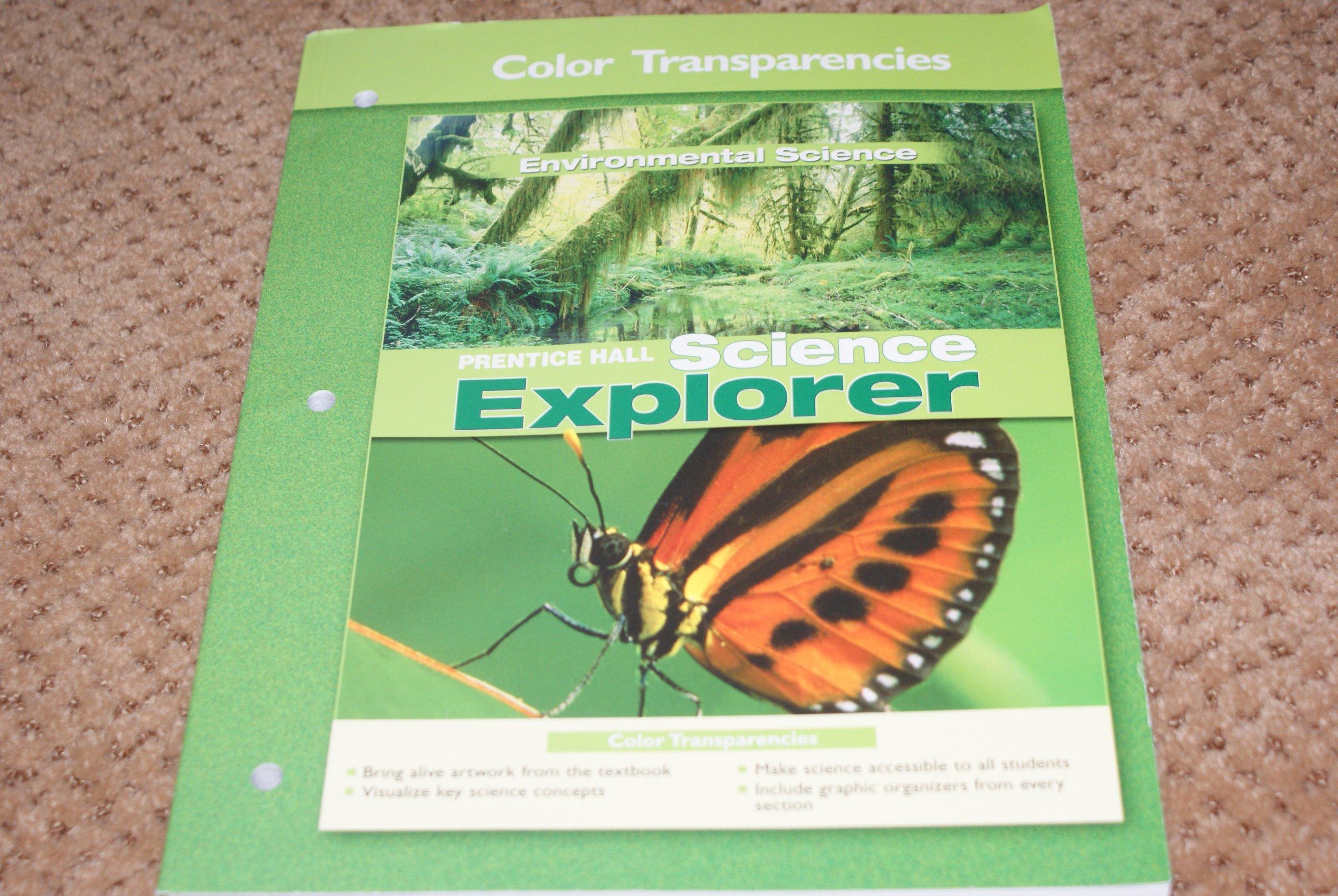 Science Explorer Color Transparencies Enviromental Science PDF Text fb2 ebook
