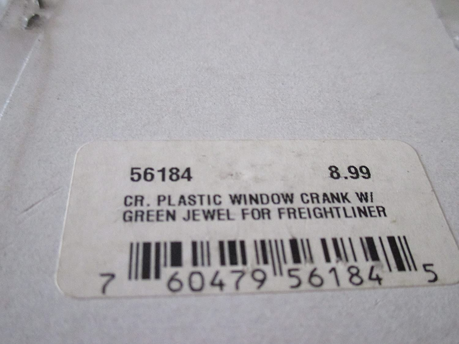 GG Grand General 56182 Chrome Plastic Window Crank w//Blue Jewel for Freightliner FLD//Classic