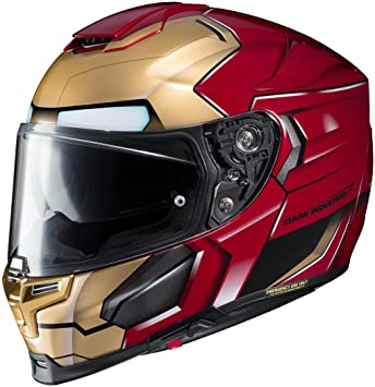 HJC Rpha 70 ST Iron Man Homecoming casco