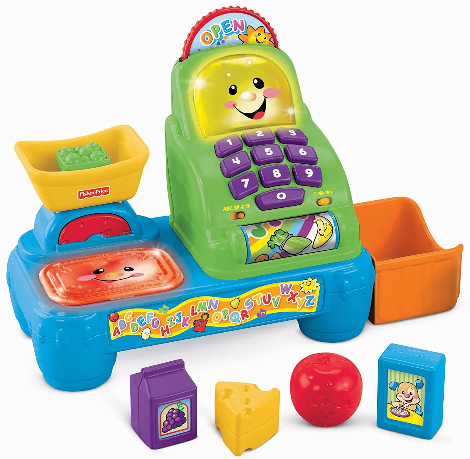 Amazon Fisher Price Laugh and Learn Magic Scan Market Toys