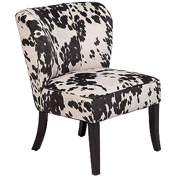 Cool Amazon Com Porter Designs Ac184 Mimi Tulip Back Cow Print Forskolin Free Trial Chair Design Images Forskolin Free Trialorg