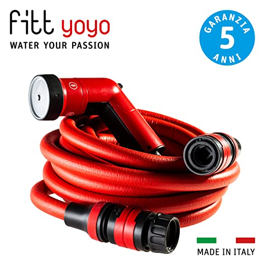 FITT YOYO GO Manguera de Agua de jardín Extensible para riego ...