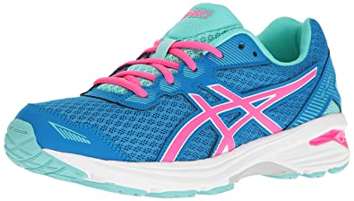 ASICS Girls' GT-1000 5 GS Running Shoe, Diva Blue/Pink Glow