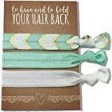 Jeune Marie Ribbon Hair Ties KIT Ponytail Holders Hair Band Bracelet Favors for Bachelorette Parties, Bridal Showers, and More!