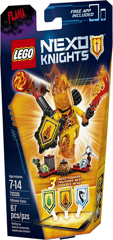 LEGO Nexo Knights 70339 Ultimate Flama Building Kit (67 Piece)