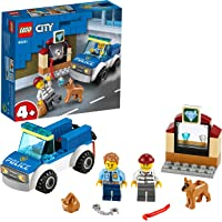 LEGO City Police Dog Unit 60241 Police Toy, Cool Building Set for Kids