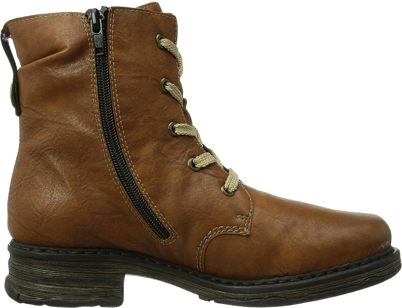 Rieker Damen Z9922 22 Kurzschaft Stiefel, Braun (Cognac 22 xTMxQ