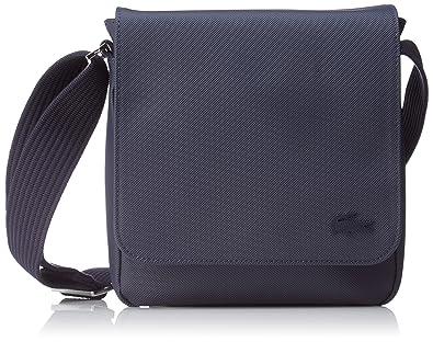 Lacoste Access Premium, Sac Bandouliere Homme, Bleu (Peacoat), 21x6.5x20 cm (W x H x L)