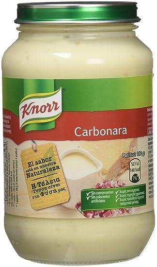 Knorr - Carbonara- Salsa Carbonara - 400 g - [Pack de 6]