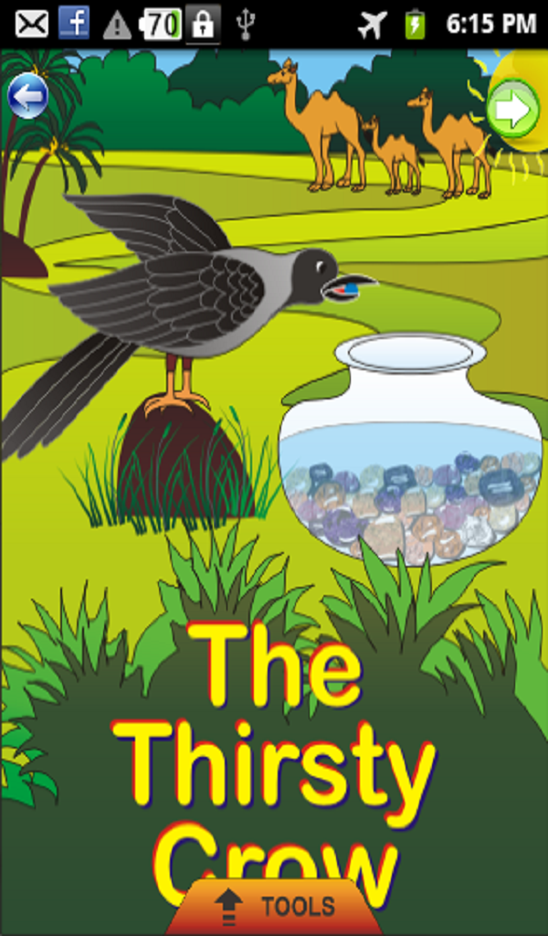 Amazon.com: Thirsty Crow - Kids Story: Appstore for Android