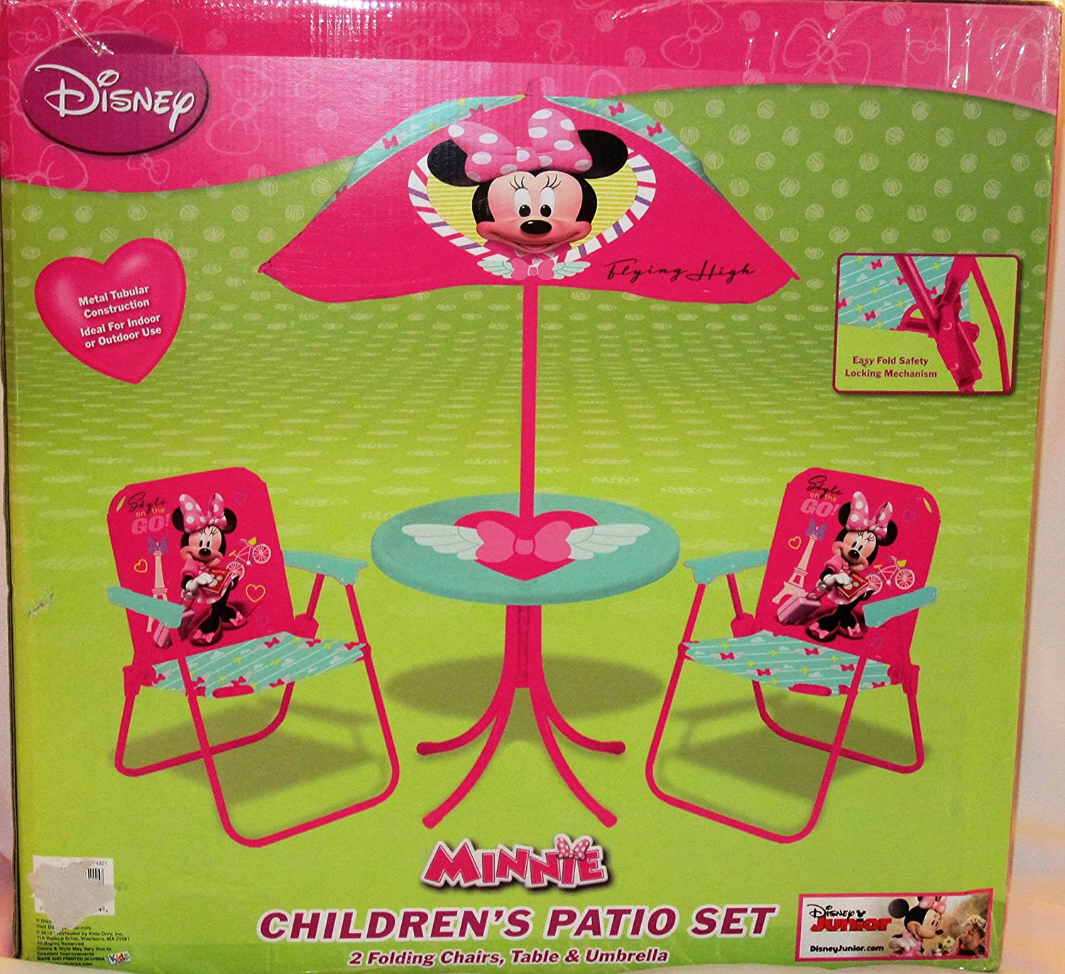 Amazon Minnie Mouse Jet Setter Classic Patio Playset Toys & Games