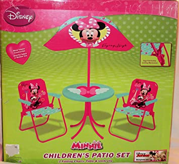 Minnie Mouse Jet Setter Classic Patio Playset