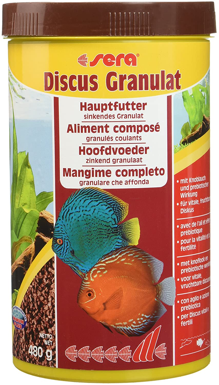 Sera - Granulés pour poissons - Discus - 1 x 1000 ml 307