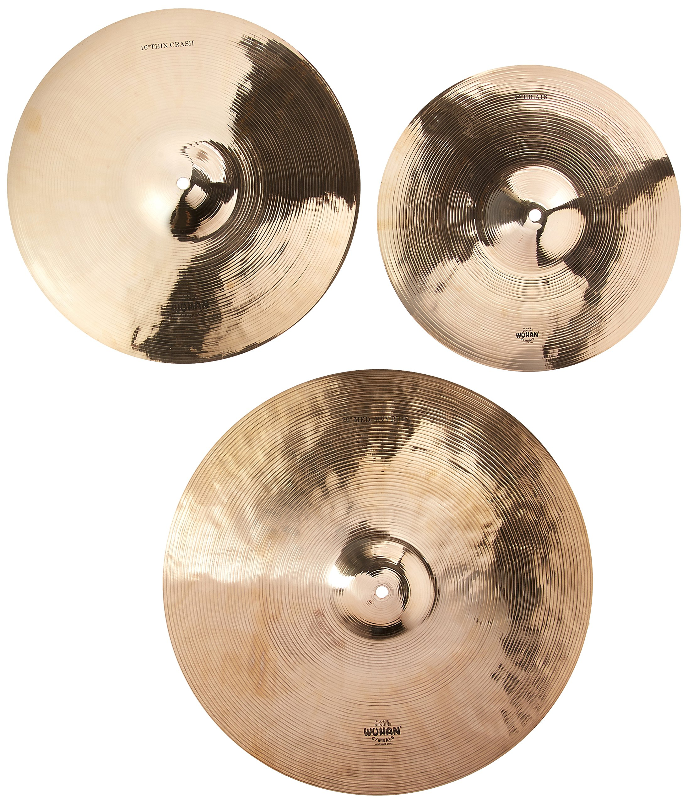 Wuhan WUTBSU Western Style Cymbal Set with Cymbal Bag by WUHAN