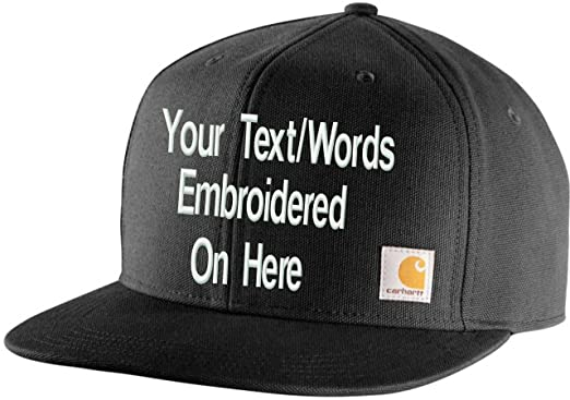 127724004 Carhartt Personalized Men's Ashland Cap Your Text Will Be Embroidered