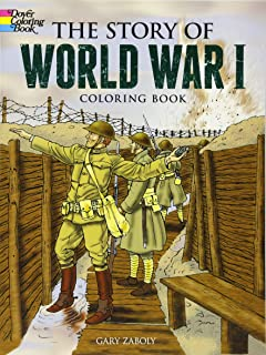 Story of World War II (Dover History Coloring Book): Peter F ...