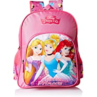 Disney Princess Beauties Pink School Bag for Children of Age Group 3 - 5 years| Size 14 inch