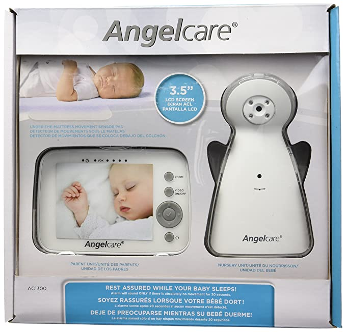 Angelcare Video and Movement with Sound Monitor, White by Angelcare: Amazon.es: Juguetes y juegos