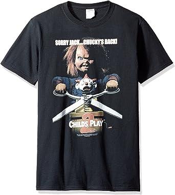 Camiseta para adulto con diseño de película de Thriller Chuckys Back