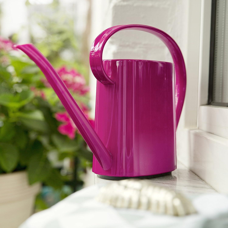 DALIA 517542 Antique Pink 1.5 Litre Volume Retro Design Plastic Emsa Watering Can