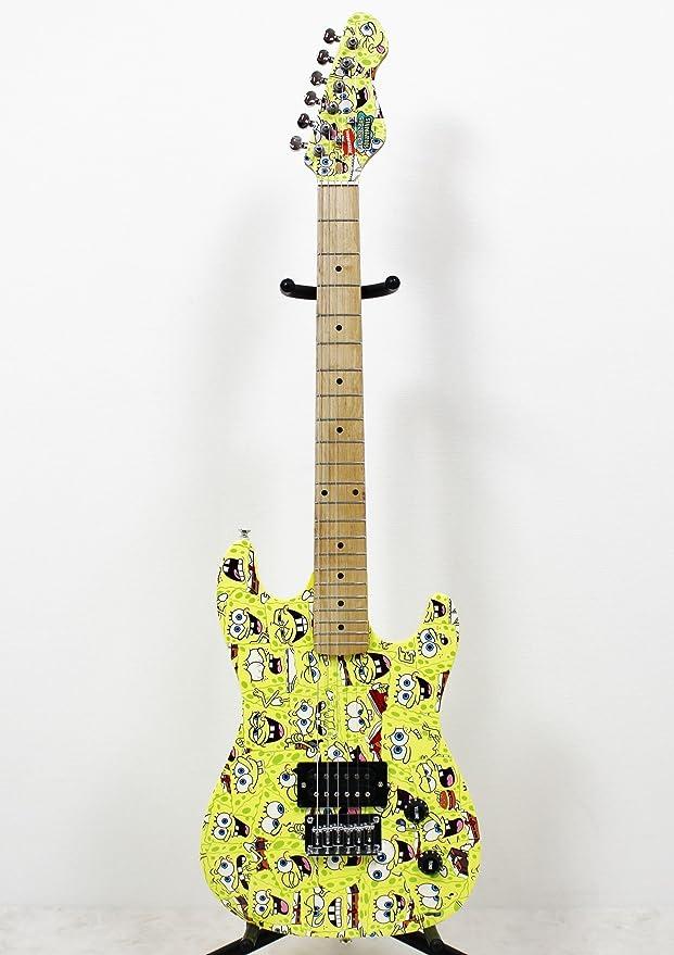 Spongebob Bob Esponja – Pack Completo Guitarra eléctrica sbe78oft: Amazon.es: Instrumentos musicales