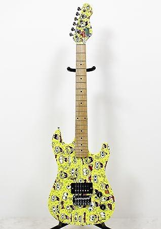 Spongebob Bob Esponja – Pack Completo Guitarra eléctrica sbe78oft