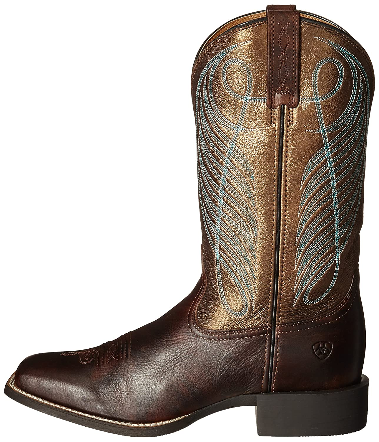 84e4788d0d5 ARIAT Women's Round Up Wide Square Toe Western Cowboy Boot