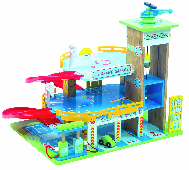 Le toy van 12439 jouet en bois le grand garage for Grand garage biterrois