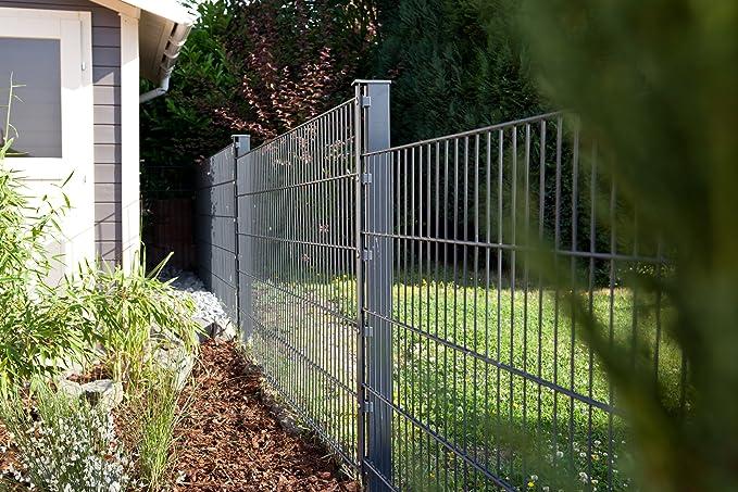 Vallas 45 m 1230 mm galvanizado Matte Valla rejilla alfombrillas rejilla de acero Valla metal Valla Puerta valla ...