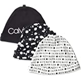 Calvin Klein baby-boys unisex-baby RH3111C Unisex Hat, Multipack Winter Accessory Set - multi - One Size